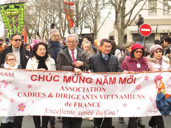 Lễ hội mừng năm mới Châu Á ở Paris